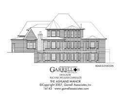 ashland manor 3802 house plans by garrell associates inc