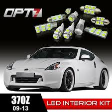 Nissan 370z Interior 8pc Interior Led Replacement Light Bulbs Package Set For 09 13