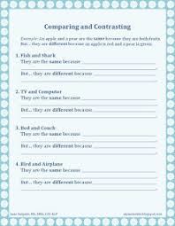 85 best compare and contrast images on pinterest reading skills