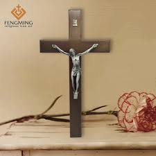 catholic wall crucifix fmrwc g2 wooden cross products pujiang fengming religious