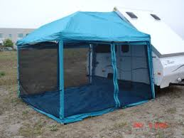 Awning For Travel Trailer Amazon Com Paha Que Custom Screenroom For Chalet And Aliner