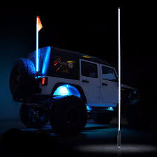 Whip Flag 5ft Led Flag Pole Safety Whip U2013 Altitude Jeep