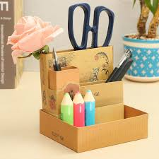 Diy Desk Storage by Office 17 Phfu 2pcs Cute Makeup Cosmetic Stationery Diy Paper