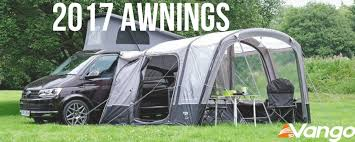 Awnings For Caravan New Awnings For 2017 Just Pitch It Vango Airbeam Inflatable