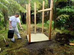 exterior how to build contemporary outdoor shower design for your