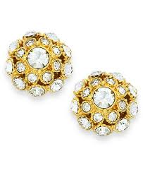gold earring studs kate spade new york earrings 12k gold plated stud
