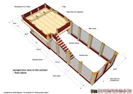 How To Build A Floor For A House How To Build A Simple Chicken Coop Free Plans With How To Build A