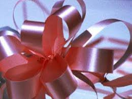shrink wrap bags with pull bows ribbons