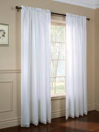 lace curtain panels with tailored window valance