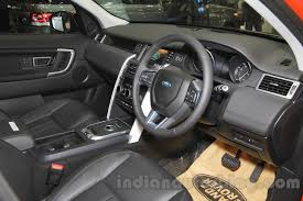 land rover india land rover discovery sport dashboard at the 2015 gaikindo