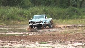 1978 Ford Truck Mudding - 1975 f250 highboy 390 fe bigblock mudding part 5 youtube