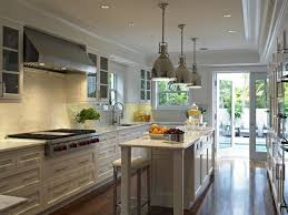 interesting long narrow kitchen designs 14 in kitchen design
