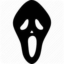 scary mask avatar horror scare mask scary skull spooky