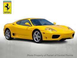 used 360 modena 1999 used 360 modena at of central florida serving