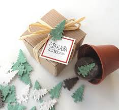 seed paper favors plantable tree garden kit party favor sets winter wedding favors