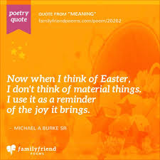the meaning easter meaning easter poem