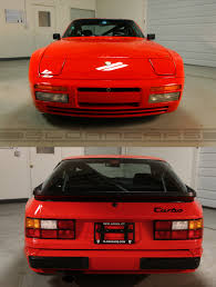 porsche 944 tuned 1988 porsche 944 turbo cup guards red 7 032 miles sloan cars