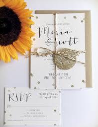 maria gold glitter confetti wedding invitation from printed love