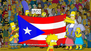 Where Is Puerto Rico On The Map The Simpsons Season Premiere Urges Viewers To Donate To Puerto