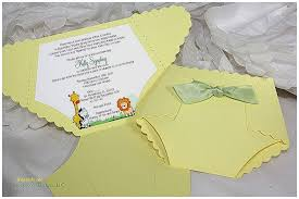 baby shower invitation unique diaper shaped baby shower