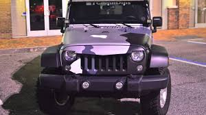 gunmetal grey jeep coquidips camo jeep wrangler video youtube