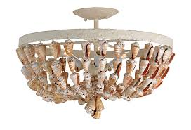 Seashell Light Fixture Seashell Ceiling Light The Designer Insider