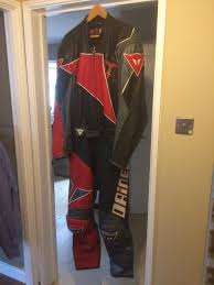 mens motorcycle leathers dainese 2 piece men u0027s motorcycle leathers in morpeth