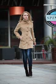 Women Winter Coats On Sale On Sale Size S Camel Wool Jacket Fitted Military Jacket Cashmere