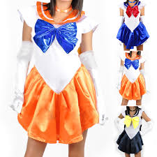 sailormoon sailor moon venus uranus costume uniform fancy dress