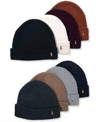 polo ralph signature merino cuffed beanie hats gloves
