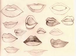 lips sketch by arheinwonderland on deviantart