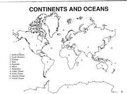 pics for u003e 7 continents outline map material ordering