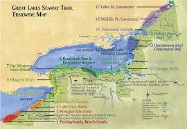 st seaway map review birding the great lakes seaway trail