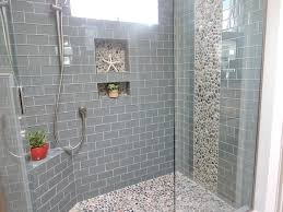 Bathroom Shower Wall Ideas Bathroom Tile Ideas For Shower Walls With Best 10 Pebble