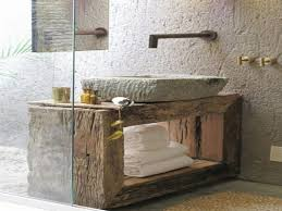 Vessel Sink Vanity Top Stone Tiled Bathroom Vanity Mosaic Tile Square Mirror On Wall