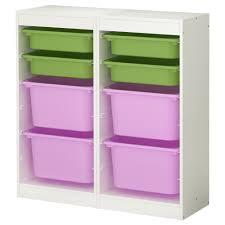 Ikea Storage Bins Furniture White Ikea Toy Storage Filled Witheight Boxes