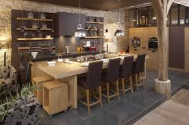 cuisine contemporaine en bois étourdissant cuisine contemporaine bois et kitchens id cuisine