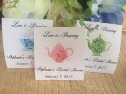 tea bag party favors bridal shower favors tea party favors tea decor tea bag