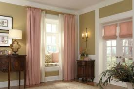 decor u0026 tips crown molding and pink curtains with hunter douglas
