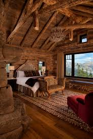 bedroom rustic bedroom ideas and large brown rug in traditional
