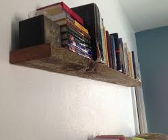 Barn Wood Shelves Super Sturdy Floating Shelf From Barn Wood 14 Steps With Pictures
