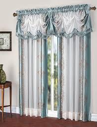Marburn Curtain Stores Danbury Semi Sheer Rod Pocket Panel Tuck Valance U2013 Marburn Curtains