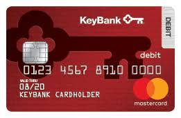 debit cards checking account debit card options keybank rewards cards