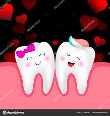 imagenes animadas sobre amor personaje dibujos animados lindo diente niño niña amor feliz día