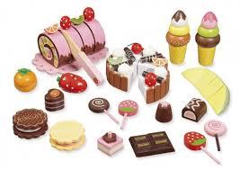 howa küche howa kaufladenzubehör süßes aus holz 4854 howa spielwaren