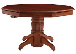 darafeev corsica poker dining table with optional bumper pool