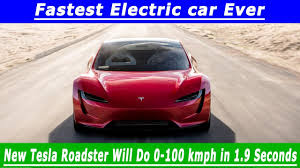 second car ever made 2020 new tesla roadster fastest electric car ever made in the