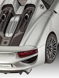 Porsche 918 List Price - amazon com revell of germany porsche 918 spyder model kit toys