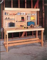 Woodworking Bench Plans Patterns by 53 Best Work Bench Images On Pinterest Woodwork Garage Workshop