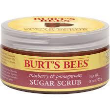 Burt S Bees Baby Wash by Burt U0027s Bees Cranberry U0026 Pomegranate Sugar Scrub